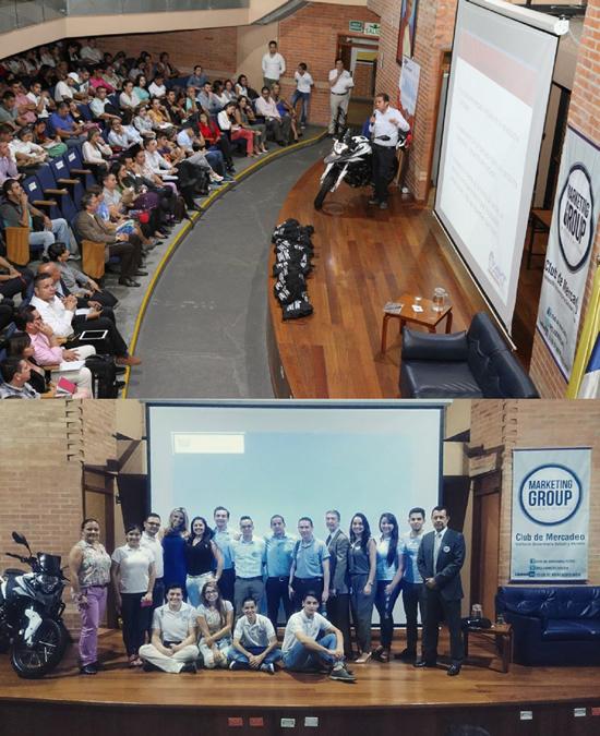 Marketing Group promueve espacios de fortalecimiento académicoIUSH