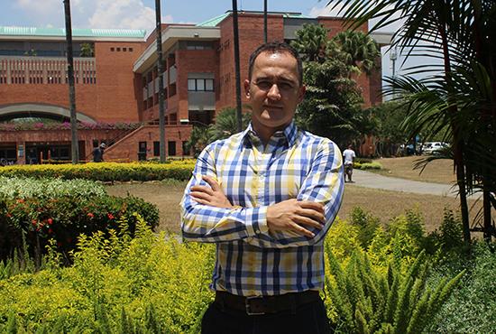 El Docente Investigador Dr. Fredy Sanz fue aceptado para realizar posdoctorado en MéxicoIUSH