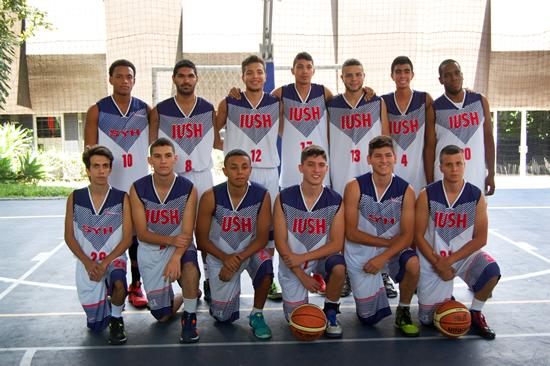 Campeones de la Novena Copa de Baloncesto InteruniversitariaIUSH