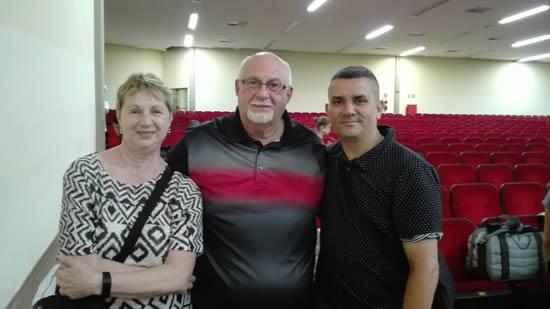 Director de la Banda de Marcha de la Organización visita Sao PabloIUSH