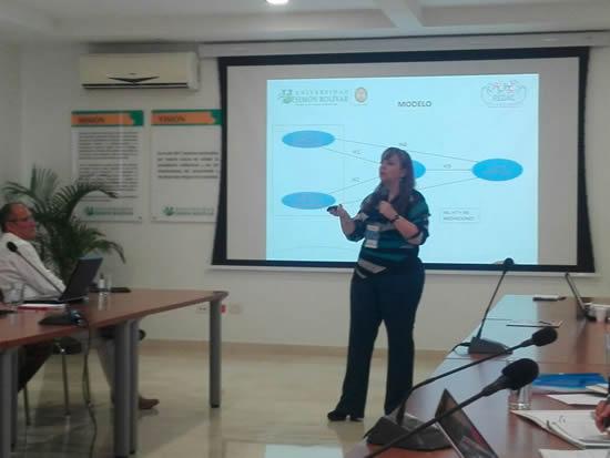 Docente de la IUSH participa en Congreso de Barranquilla IUSH