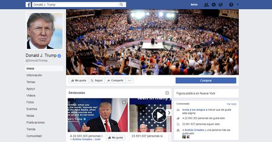 Donald Trump lanza su propio canal informativoIUSH