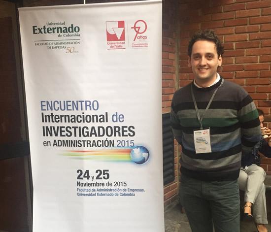 El Docente Mg. Juan Fernando Vélez Ocampo presentó investigaciones a nivel nacional e internacionalIUSH