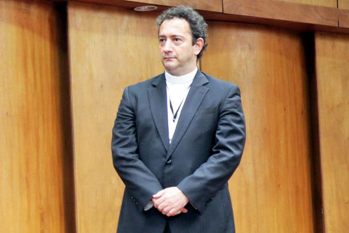 Discurso de homenaje al Pbro. Jorge Iván RamírezIUSH