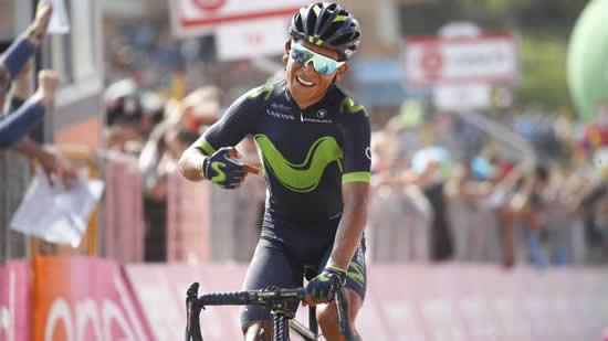 El protagonismo de los colombianos en el Giro de ItaliaIUSH