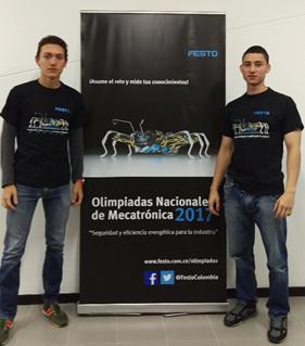 Estudiantes de Ingeniería participaron en Olimpíadas de Mecatrónica de FestoIUSH