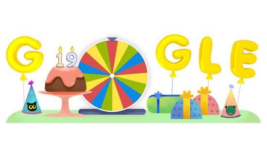 Los 19 años de Google en InternetIUSH