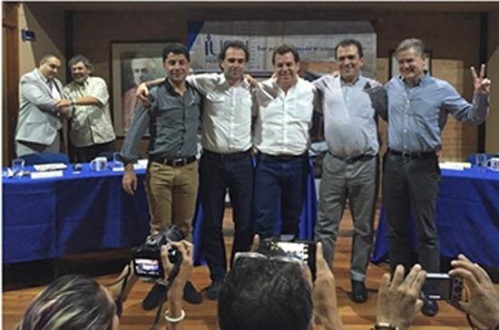 La IUSH motivó a un abrazo fraterno entre candidatos a la Alcaldía de MedellínIUSH