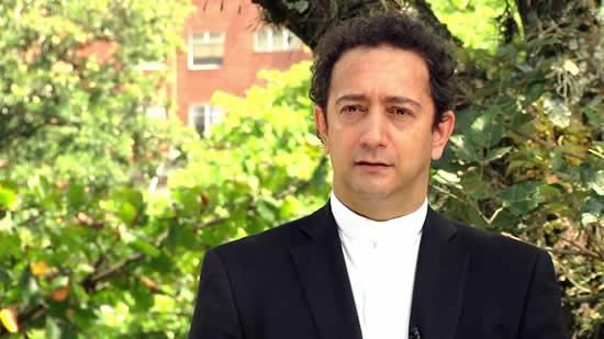 El Liceo y la Institución Universitaria Salazar y Herrera, le dan la bienvenida al nuevo Rector Pbro. Dr. Jorge Iván Ramírez Aguirre.IUSH