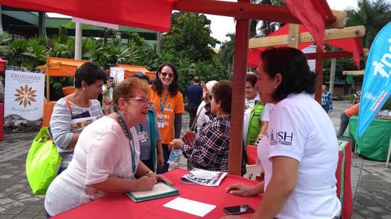 Programa del Adulto Mayor Salazar y Herrera hace presencia en eventos de ciudad IUSH