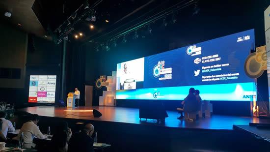 La IUSH asiste al 2° Congreso Empresarial Colombiano de la ANDIIUSH