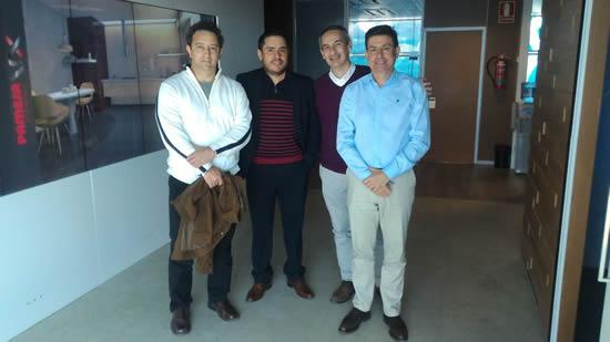 La IUSH comparte conocimiento en los Laboratorios de Neurotecnologías Inmersivas en Valencia, España.IUSH