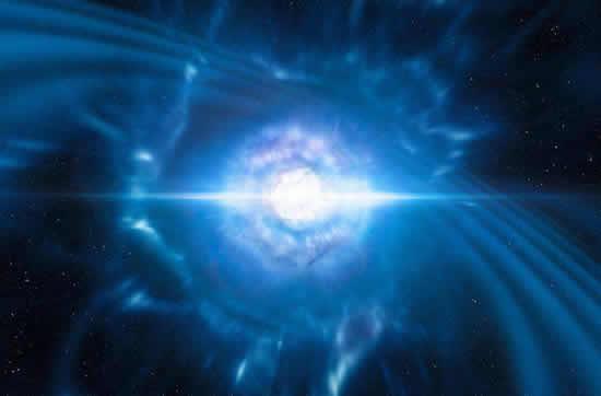 Los efectos del choque de dos estrellasIUSH