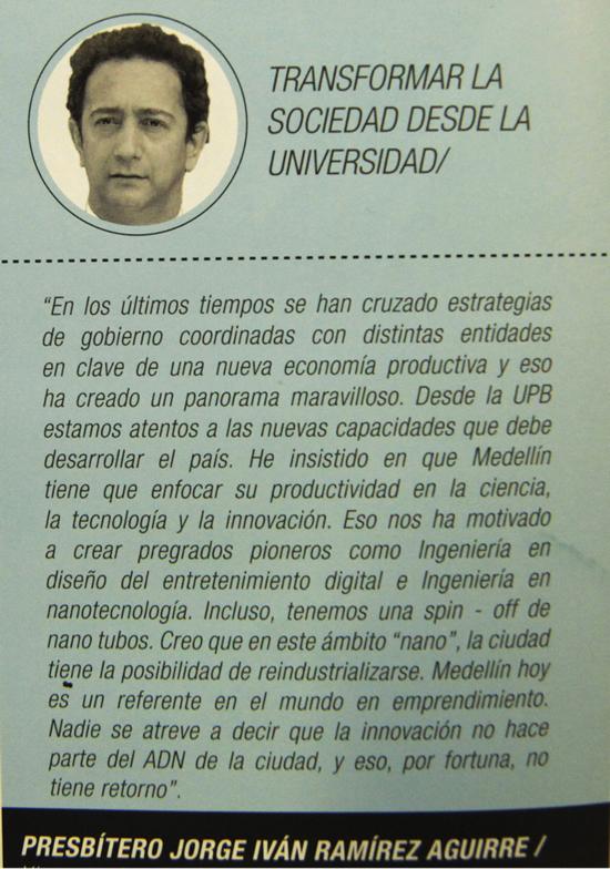 Nuestro Rector escribió artículo para la Revista Medellín EmprendedoraIUSH