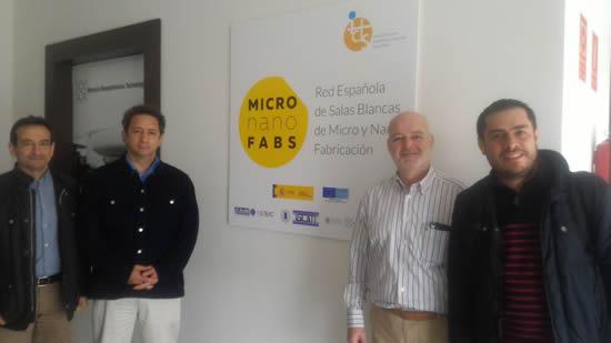 La IUSH visita a la Red de Salas Blancas de Micro y Nano FabricaciónIUSH