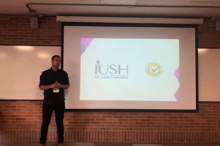Estudiante de la IUSH presentó ponencia en la XXV Cátedra Unesco de Comunicación.IUSH