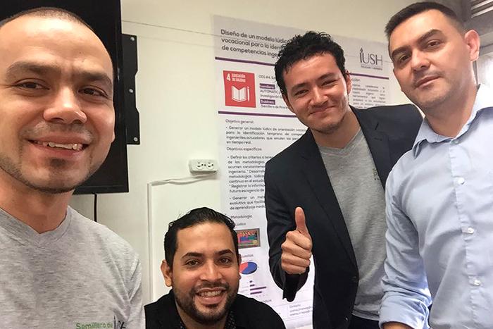 Estudiantes de la IUSH clasificaron a encuentro nacional de semilleros de investigaciónIUSH