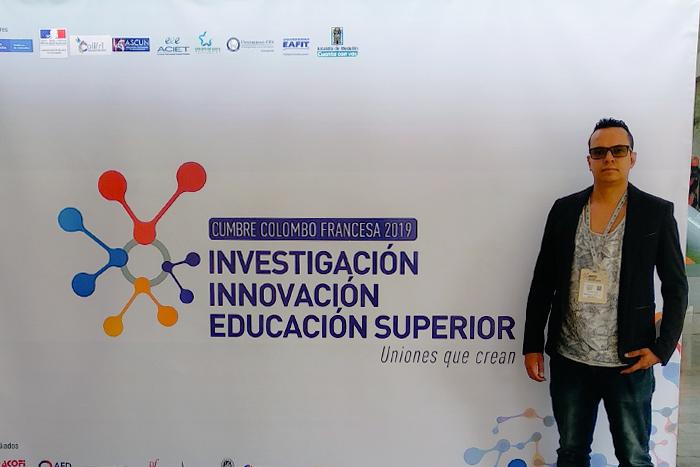 Edison Patiño representa a la Institución en la Cumbre Colombo Francesa 2019IUSH