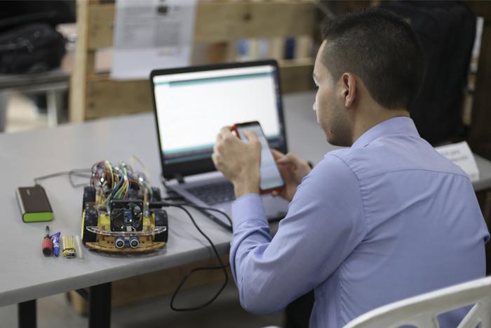 Cierre de la Muestra de Proyectos de Aula de la Escuela de IngenieríasIUSH