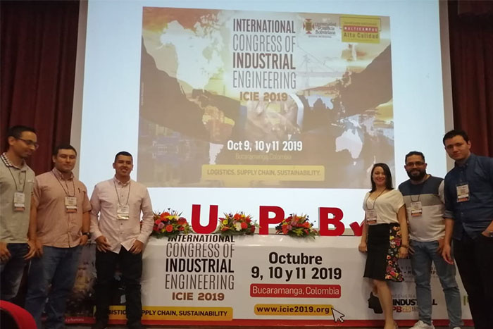 Representación de la IUSH en Congreso Internacional de IngenieríaIUSH