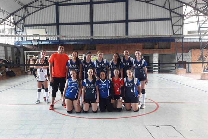 Así se vivió la 1era COPA IUSH de Voleibol y Fútbol SalaIUSH