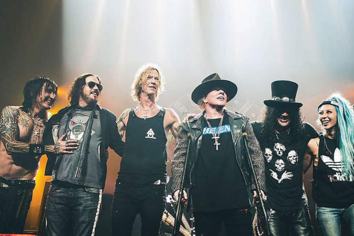 10 años después los Guns N' Roses siguen rompiendo recordsIUSH
