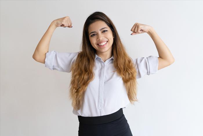 Más que género, es motivación, esfuerzo y constancia.IUSH