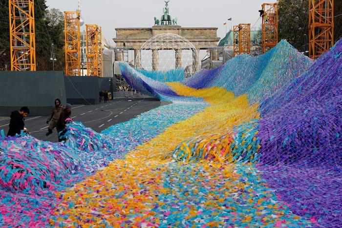 30 años de la caída del Muro de Berlín convertidos en arteIUSH