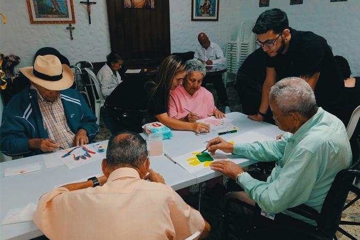 Alegratón, el proyecto de intervención presente en San Cristobal.IUSH