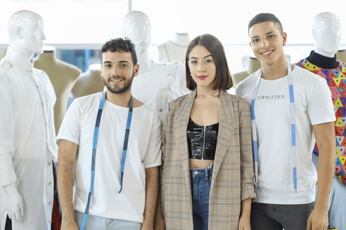 Estudiantes de Modas de la IUSH exhiben sus diseños en el Centro Comercial Los MolinosIUSH
