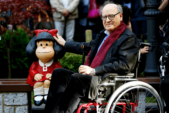Mafalda se quedó sin papáIUSH