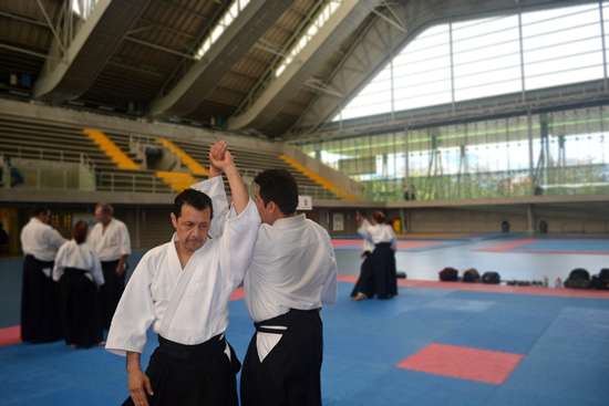 Docente IUSH, se destaca en artes marciales.IUSH
