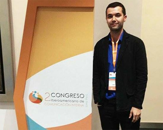 Estudiante de la IUSH participa en Congreso de Comunicación Interna en Lima, Perú.IUSH