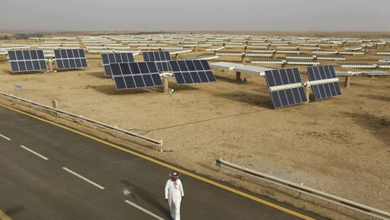 La energía solar en la mira de Arabia Saudita IUSH