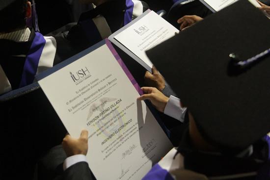 Cronograma: Ceremonia de graduación del 25 de agostoIUSH