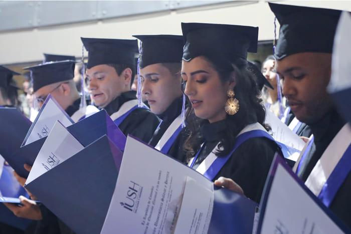 Ceremonia de Graduación - Febrero 2020IUSH